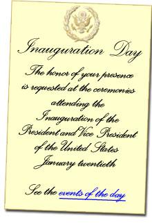 inaugural invite
