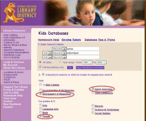 Kids Databases A-Z