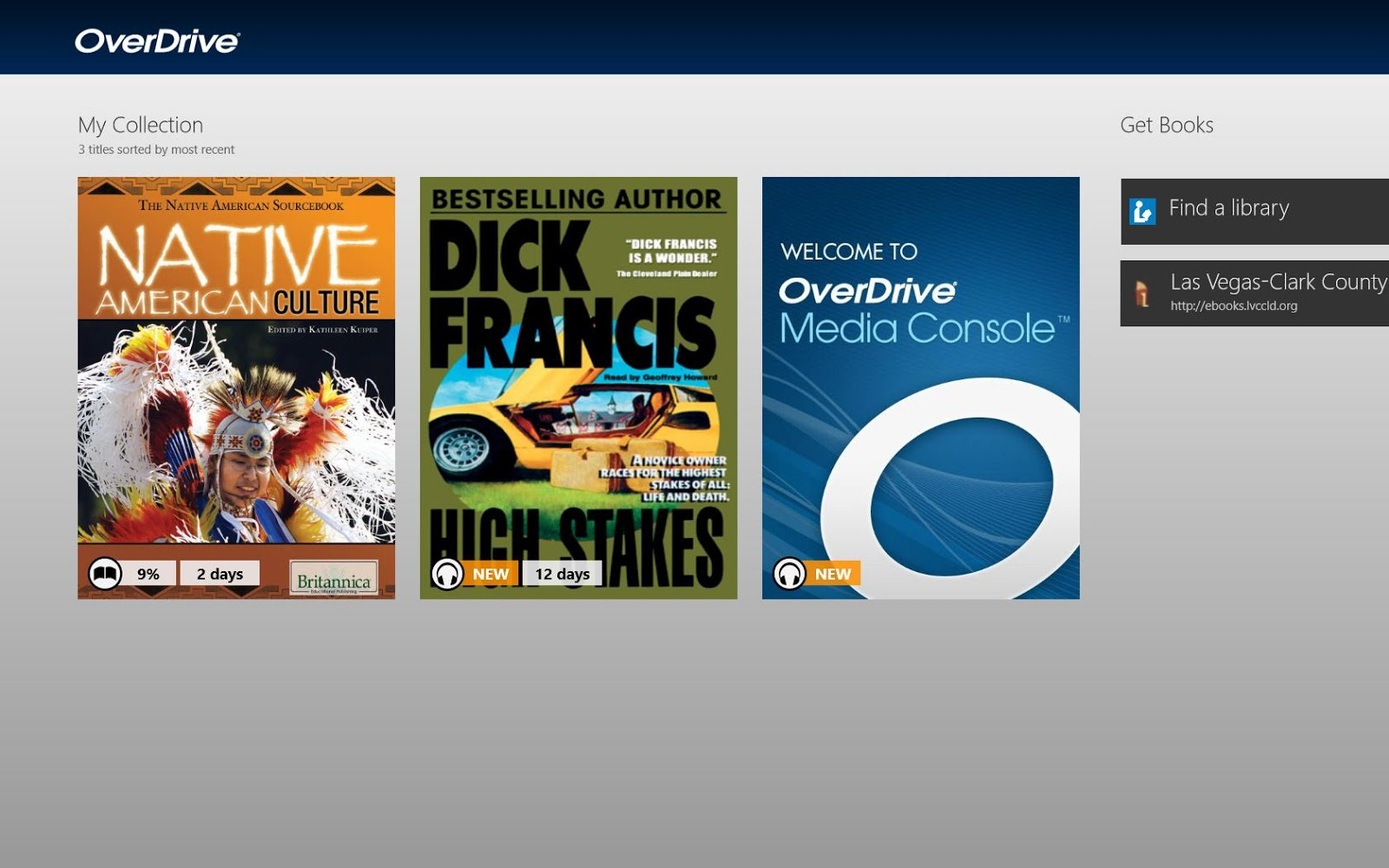 overdrive media console windows