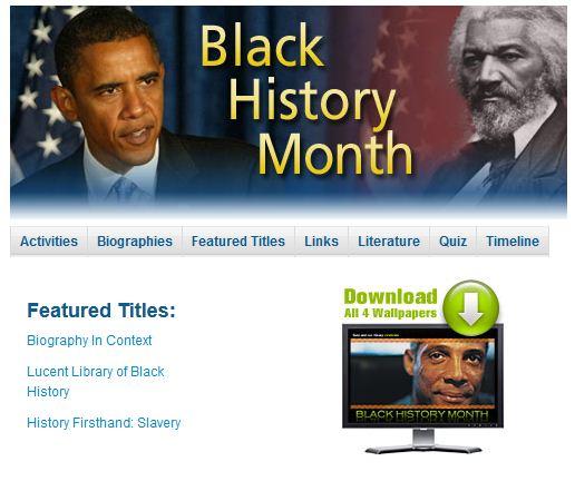 Black history homework help