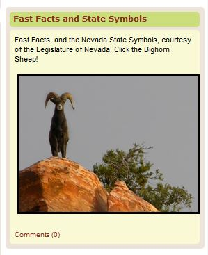 nevada facts