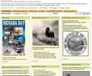 nevada day history